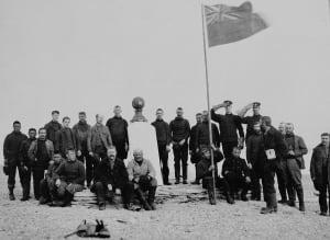 Franklin monument, Beechey Island, 1904