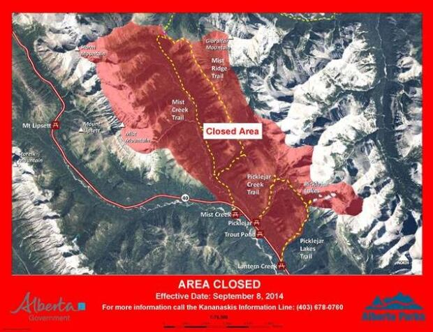 Bear closure Pickleday day use area
