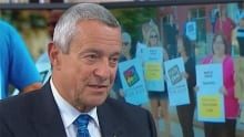 B.C. Education Minister Peter Fassbender RAW