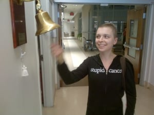 Elle Cote 'rings the bell'