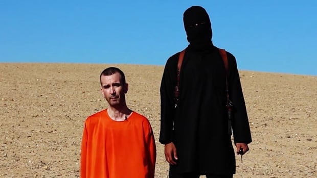 ISIS militants fighting in Iraq and Syria released a video on Saturday that showed British aid worker David Haines being beheaded by a man who resembled the British-accented man seen in earlier ISIS videos.