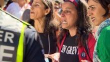 B.C. teachers' rally upset teachers