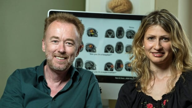 Adrian Owen, left, and Lorina Naci showed that a patient with unknown levels of 