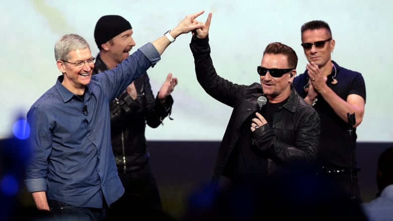 Apple's one-click tool deletes unwanted U2 tracks | CBC News