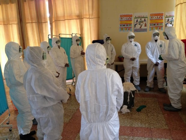 Ebola equipment