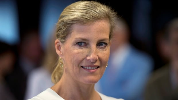 Sophie Rhys-Jones, Countess of Wessex. This is the Countess' twelfth visit to Canada and her first to a fly-in community in Ontario.