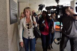 Renata Ford arrives at Mount Sinai Hospital on Sept. 17, 2014