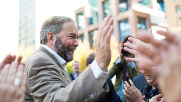 NDP Leader Tom Mulcair will need to win over new voters outside of Quebec if his party is to form Canada's next government.