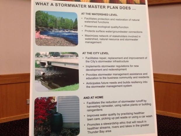 Storm water master plan panel, Thunder Bay meeting