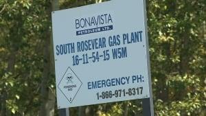 Rosevear Gas Plant Sulfolane