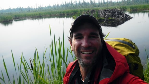 Explorer Rob Mark snapped a selfie on top of the world's largest beaver dam. He became the first person to reach the structure deep in northern Alberta.