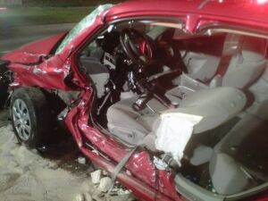 Orleans T-bone crash