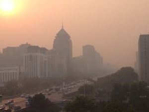 China burns about as much coal as the rest of the world combined.
