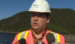 Scott O'Brien, project manager for Muskrat Falls generation with Nalcor