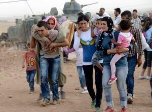 Syria Turkey refugees ISIS