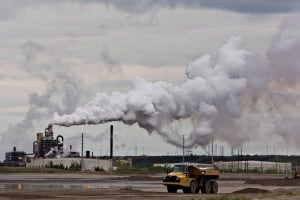Syncrude oilsands extraction facility