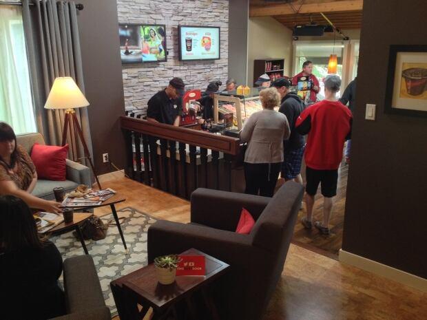 Inside Tim Hortons House Calgary