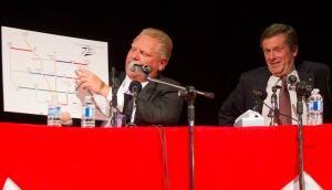 Toronto mayor debate Doug Ford