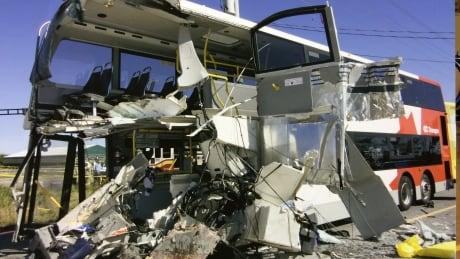 OC Transpo Via Rail Train Bus Crash TSB Update