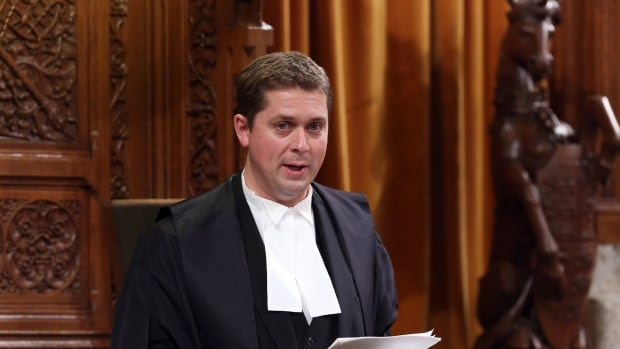 Under a rule change proposed by the NDP, House of Commons Speaker Andrew Scheer would be given explicit authority to intervene during question period to cut off 'irrelevant' or 'repetitive' replies.
