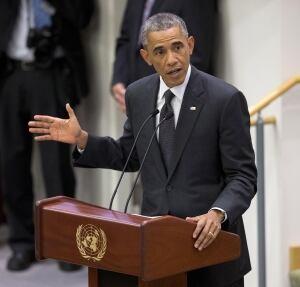 Barack Obama UN Ebola