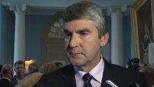 Premier Stephen McNeil after Nova Scotia throne speech