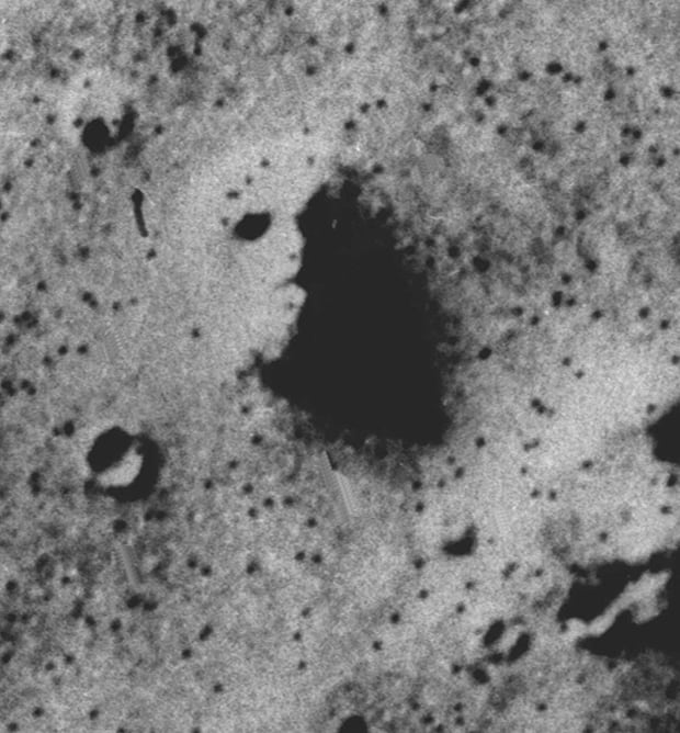 face on mars and moon - photo #15