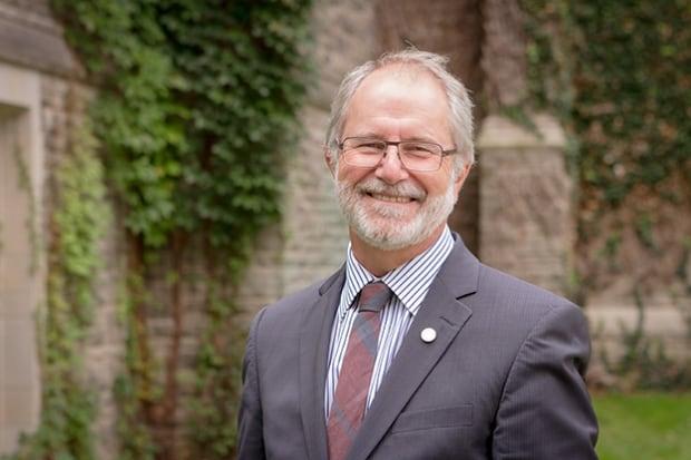 McMaster University president Patrick Deane