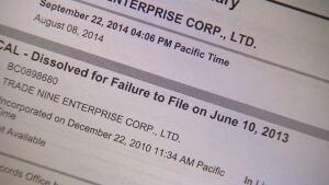 Trade Nine Enterprise Dissolved