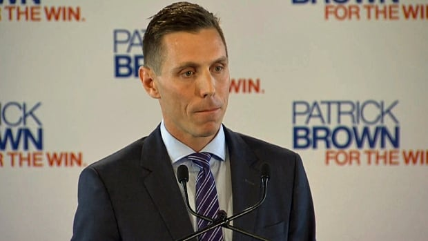 Barrie MP Patrick Brown is pursuing a bid to become the next Ontario PC leader.
