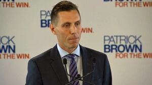 Barrie MP Patrick Brown announces PC leadership bid