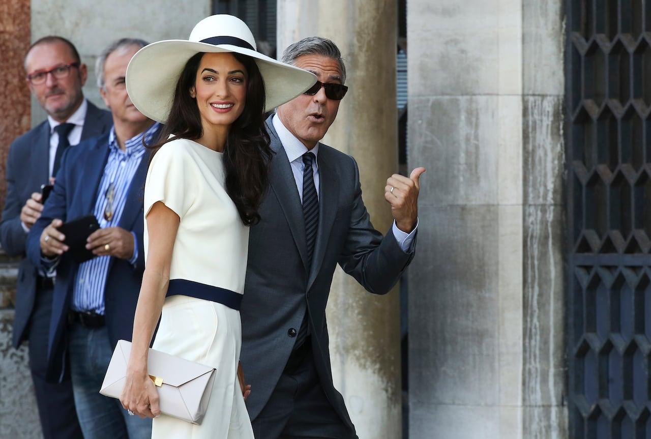 6f5938fdd5e8f George Clooney and Amal Alamuddin have second wedding in Venice ...