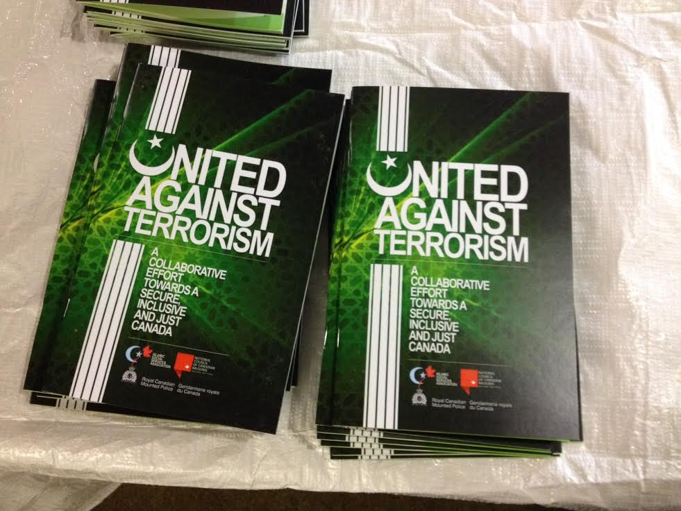 United Against Terrorism handbook released at Winnipeg