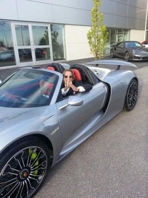 Michael Wekerle in Porsche 918 Spyder