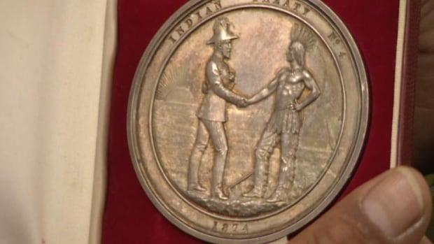 Treaty four medal