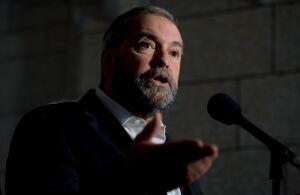 NDP Leader Tom Mulcair 20141001
