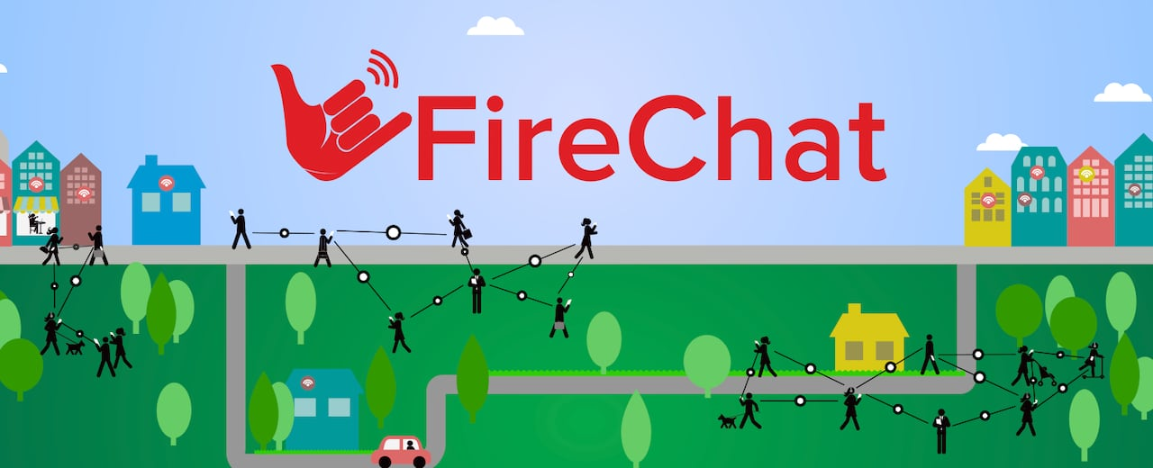 FireChat 'off-the-grid' messaging app: What you need to know