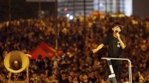 Hong Kong protest Joshua Wong