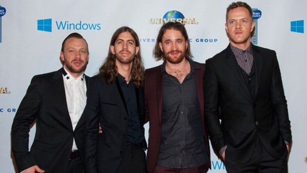 American alternative rock band Imagine Dragons will perform at halftime of the Grey Cup on Nov. 30 at B.C. Place.