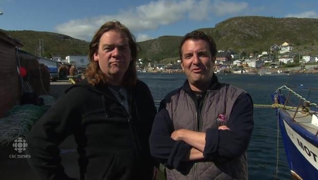 Alan Doyle and Rick Mercer salute CBNT on 50 years