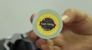 Club coffee pod
