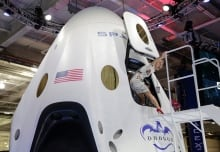 APTOPIX SpaceX Spacecraft