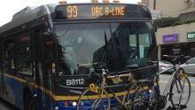 UBC 99 line TransLink bus