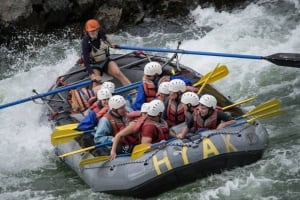 Bethany Paquette rafting
