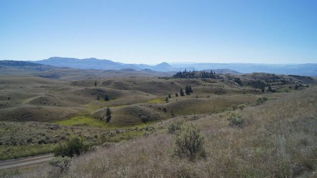 Lac du Bois Grasslands Protected Area is located in North Kamloops