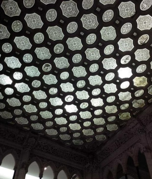 House of Commons foyer glass ceiling