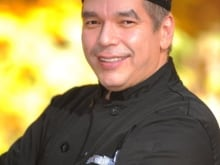 David Wolfman is a chef and the star of the APTN program Cooking with the Wolfman.
