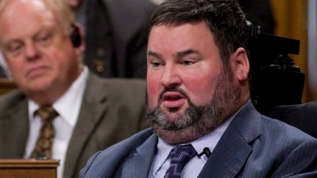 MP Steven Fletcher, pictured in 2011, says the issue of dying with dignity is of 'great importance' to him and needs to be discussed openly by Canadians.