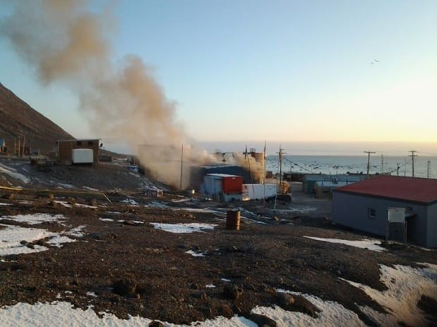 Grise Fiord fire hall fire