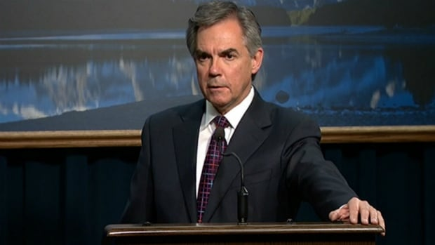 Alberta Premier Jim Prentice made an announcement regarding school infrastructure funding for the next 10 years on Wednesday afternoon in Calgary.